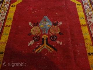 Unikat  antique  Kirshehir  Medjidi  Prayer  rug     102 X 152  cm.     Merry  Xmas  and  a very   ...