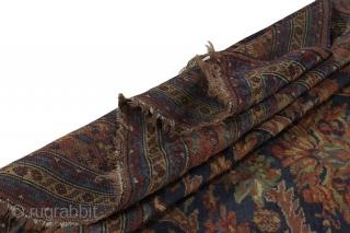 Bijar Kurdi Persian Rug   Age: Over 110 years old  Size: 330 x 255  Info  https://www.carpetu2.com  carpetu2@gmail.com