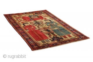 Lori - Bakhtiari Persian Carpet. More information https://www.carpetu2.com
