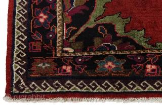 "Bijar - Koliai Persian Carpet 7'1""x4'9""(217x145cm) See more details here: https://www.carpetu2.com/id/unq1306-405/Persian,Nomadic,Classic,Antiques,Offers,Popular,Bijar,Koliai/?lan=int"