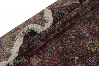 Antique Hereke - Turkish Turkish Carpet 321x228cm. More details https://www.carpetu2.com
