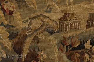 Antique French Textile 165x190cm. More details https://www.carpetu2.com