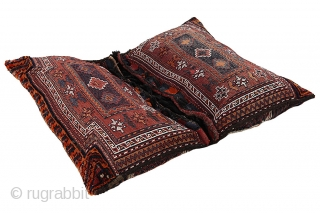 Antique Lori - Saddle Bag Persian Textile 116x95cm. More details https://www.carpetu2.com