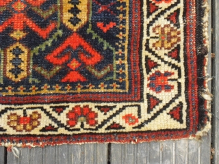 Old Caucasian or Northwest Persian bagface fragment - very soft and meaty wool