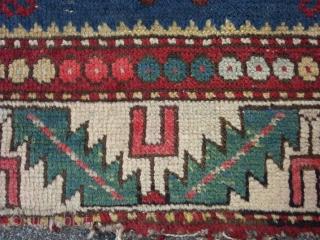 Small Kasak, 96 x 120 cm. 19th C.
