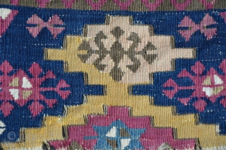 Two Anatolian Kilim Fragments, 157 x 98 cm