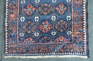 Kordi, 152 x 90 cm, high floor with soft wool, good original condition.