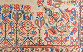 16th Century Ottoman Greek embroidery.