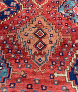 Spectacular Early 1800 Turkmen Ersari Beshir Carpet. Undocumented as far as I know. $1 NO RESERVE on eBay:
