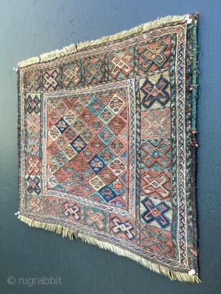 19th Century Caucasian Sumak 20x23 inches