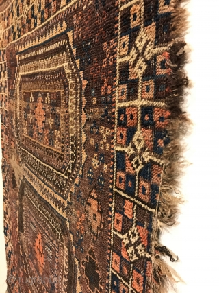 Antique Baluch Rug. 