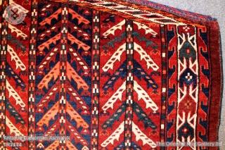 Turkoman Yamut/ Yamud Asmalyk. 1.25m x 0.70m
