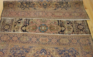 "Persian Farahan Sarouk circa 1880's Rug, the size 4'5"" x 6'9"" (135 x 206 cm.)