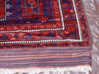"""Antique Yaqub Khani Main Carpet , mid 19th Century, size 5'9"""" x 9' ft. (175 x 274 cm), very good original condition, no repair or restoration, good pile, ends and sides are  ..."""