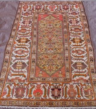 Antique Persian Malayer Hamadan, circa 1910, rug, 4' x 7'ft.