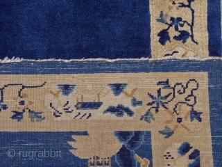 "Antique Peking Chinese, size 3'1"" x 5'10""ft. mint original condition."