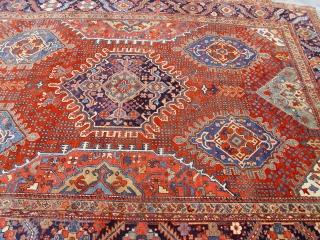 "Antique Persian Serapi Heriz , size: 9'4"" x 11'9"", no repairs, turn of the Century, original very good condition, amazing rug!"