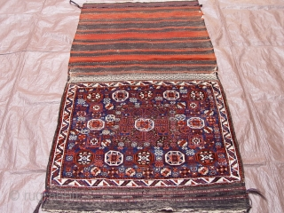 "Antique Baluch Saddle Bag, 2'10"" x 5'6"","