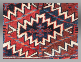 "Yomut Asmalyk, Central Asia, 19th century, 3'4"" x 2'6""
