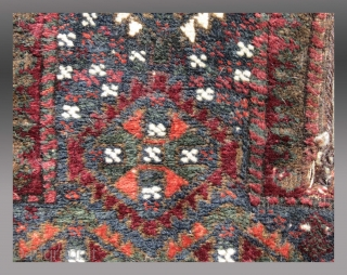 "Baluch Salt Bag, SE Persia, 19th C., 1'1"" x 2'1""