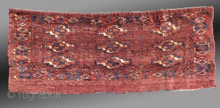 "Yomut Turkmen ""Torba"" (small bag/trapping), Central Asia, late 19th Century, 1'3"" x 3'3""