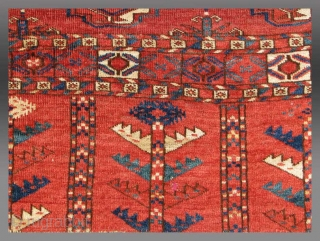"Tekke Turkmen ""Chuval"" (storage bag), Central Asia, 19th C., 3'6"" x 2'5""