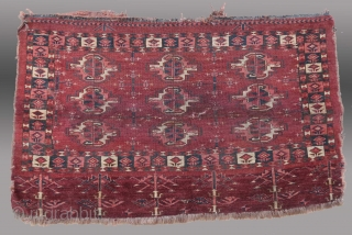 "Turkmen ""Chuval"", Yomut Group, Central Asia, 19th C., 3'6"" x 2'6""