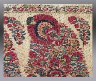 Kashmiri Shawl Fragment, circa 1800  Please inquire for more information