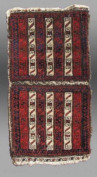 "Baluch Chanteh, NE Persia, 19th Century, 1' x 2'1"""