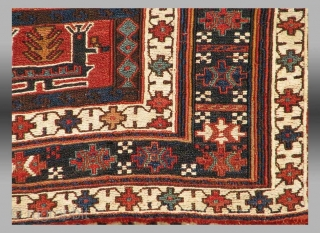 """Luri Chuval, W. Persia, 19th C., 3' 7"""" x 2' 8""""  It is always interesting for me to see 'chuvals' (large storage bags) appear when made by groups other than the Turkmen, among  ..."""