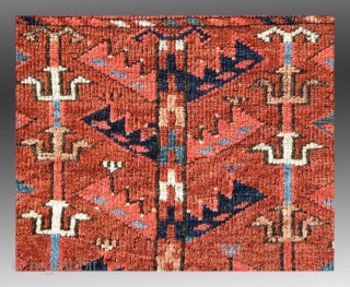 "Turkmen Chuval, Yomud Group(?), Central Asia, 19th Century, approx 3'6"" x 2'5""