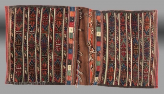 "Veramin Region Saddle Bag (""khorjin""), 19th C.