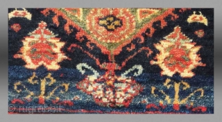 "Kurd Bag Face, NW Persia, 19th C., 1 '4"" x 1' 2""