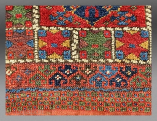 "Kurd Bag Face, NW Persia, 19th C., 1 '4"" x 1' 5""