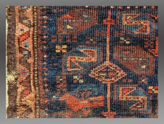 "Baluch Bag Face, w. Afghanistan, 19th C., 1' 7"" x 1' 7""