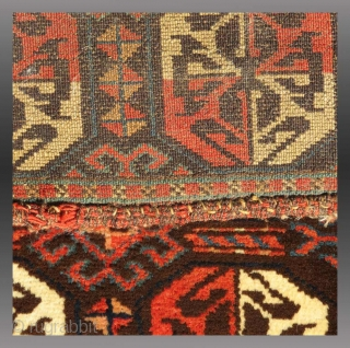 """Karakalpak """"Karshin"""", Central Asia, late 19th C., 1'3"""" x 3'1""""  Just one of many weavings and textiles recently added to my website  If interested, you may see this weaving and more at - http://www.tcoletribalrugs.com/zrecentacq.html"""