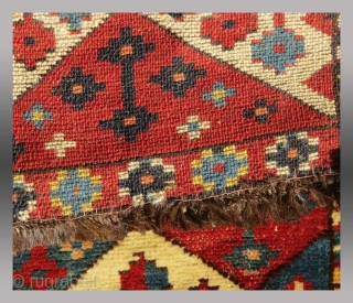 "Uzbek ""Napramach"" (storage bag panel), Central Asia, 19th C., 1'7"" x 2'11""