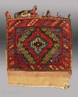 Baluch Bag Face, W. Afghanistan, 19th C.