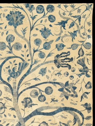 Tree of Life Colcha Coverlet