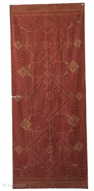 Kain Kaligrafi. Jambi, Sumatra, Indonesia.