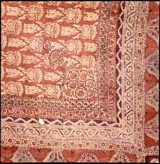 Indai, Gujarat. 17/18th c. 268x236cm.  www.tinatabone.com