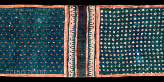 Gujarat: Three panel cloth. Found in Sulawesi. Age: 16th/17th c. Size:428x76cm. see www.tinatabone.com