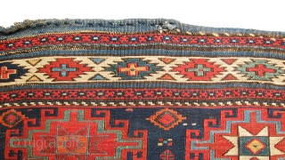 Exceptional, rare, antique memling gul shahsavan small mafrash panel, great colors and rare design for mafrash, weave is absolutely fine and tight, all colors are natural! extra $100 off