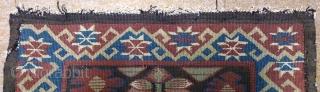 Antique Norwegian kilim, no: 295, size: 51*59cm, wall hangings.
