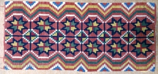 Antique pillow swedish kilim(Rolakan technique), no: 320, size: 101*46cm.