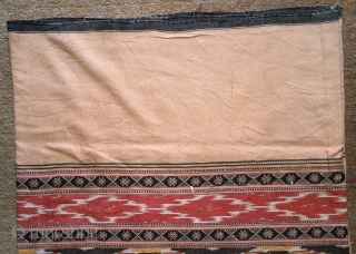 traditional Ikat cotton, indonesia , no: 177, size: 200*143cm.