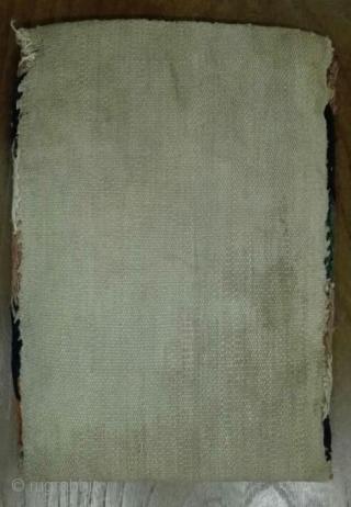 Antique Shahsavan chanteh, size: 19*27 cm.