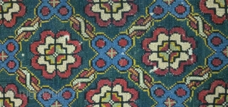 Antique swedish cross stitch, no: 110, size: 102*48cm, late 18th century, all natural colors.