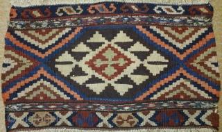 Antique shahsavan kilim panel, no: 113, size: 50*30cm, late 19th century.