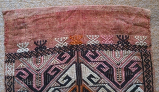 Antique Anatolian Juval(Jual), no: 150, size: 96*49cm, wool and cotton.